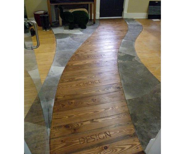 Indoor Wood & Stone Work
