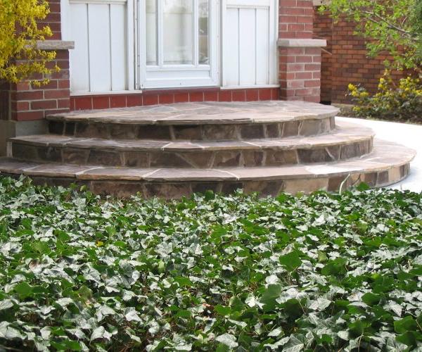 Circular Stone Steps