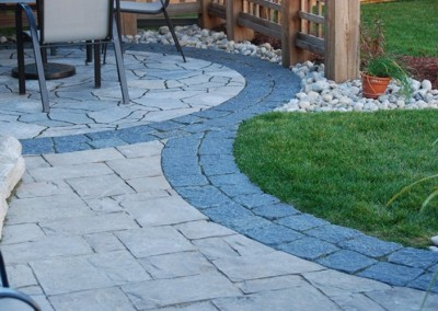 Patterned Patio