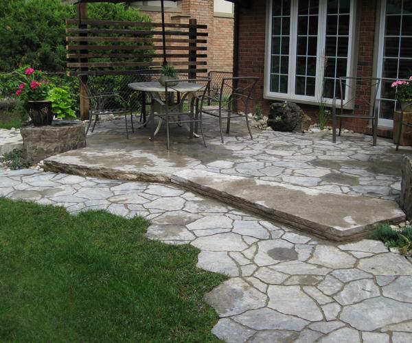 Paving Stone Patio 2