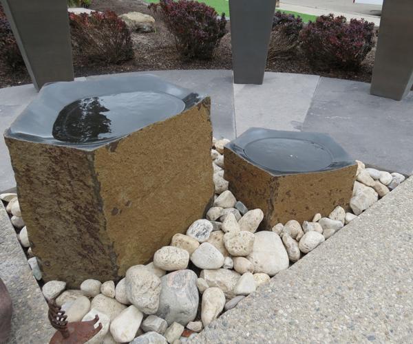 Modern Water Feature