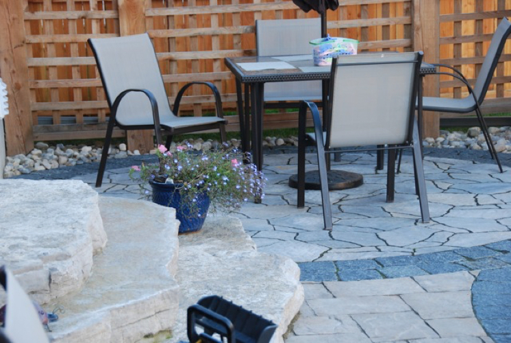 Pleasant Patterned Patio 1 Southern Stone Outdoor Creations Home Interior And Landscaping Mentranervesignezvosmurscom