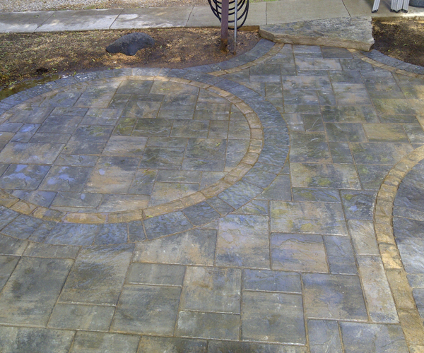 Circular Patterned Patio
